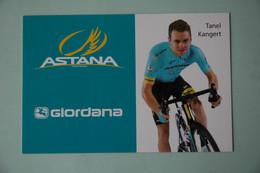 CYCLISME: CYCLISTE : TANEL KANGERT - Cyclisme