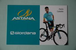 CYCLISME: CYCLISTE : DARIO CATALDO - Cyclisme
