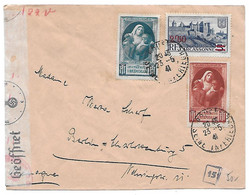 Env. 1941 Rouen-Allemagne - Ouverture Pour Contrôle - Oorlog 1939-45