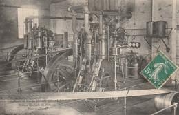 CARTE POSTALE   Mines De Fer De SEGRE 49  Station Centrale De L'Oudon.Moteurs Diesel - Segre