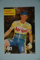 CYCLISME: CYCLISTE : JEAN CLAUDE COLLOTI - Cyclisme
