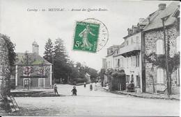 Meyssac Avenue Des Quatre Routes Carte En Très Bon état - Frankrijk