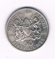 50 CENTS 1968 KENIA /8462/ - Kenya