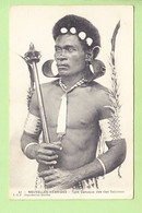 NOUVELLES HEBRIDES - VANUATU - Type Canaque Des Iles Salomon - Peu Courant - Ed L.B.F. - 2 Scans - Vanuatu