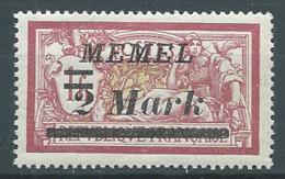Memel YT N°60 Merson Surchargé Neuf/charnière * - Nuovi