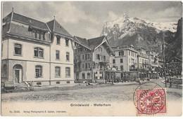 CPA - GRINDELWALD - Wetterhorn - BE Berne
