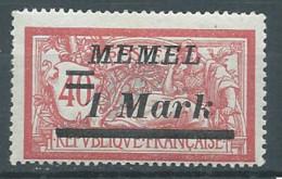 Memel YT N°57 Merson Surchargé Neuf/charnière * - Nuovi