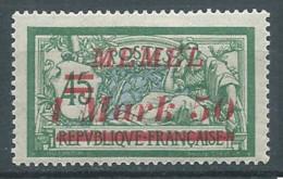 Memel YT N°59 Merson Surchargé Neuf/charnière * - Nuovi