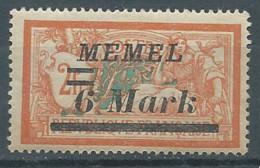 Memel YT N°63 Merson Surchargé Neuf/charnière * - Nuovi