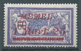 Memel YT N°58 Merson Surchargé Neuf/charnière * - Nuovi