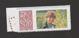FRANCE / 2006 / Y&T N° 3969A ** Ou AA 85D ** : Lamouche 0.86 € Lilas-brun (Grande Vignette PHOTO) X 1 BdF G - France