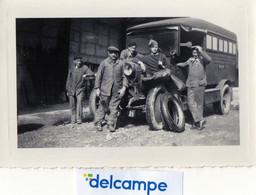 PHOTO  ANCIENNE -  AUTOMOBILE -  CAMION MILITAIRE ?    Immatriculé 41791 - Auto's