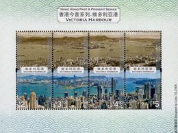 Hong Kong - 2020 - Hong Kong Past And Present - Victoria Harbour - Mint Souvenir Sheet - Nuovi