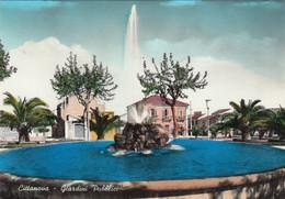 CITTANOVA-REGGIO CALABRIA-GIARDINI PUBBLICI-CARTOLINA VERA FOTOGRAFIA VIAGGIATA IL 27-8-1964 - Reggio Calabria