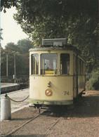 N°7142 R -cpm Tramway Motrice 74 De Neuchâtel- - Tramways