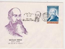 NICOLAE IORGA WRITER, HISTORIC ROMANIA - Escritores