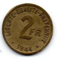 France - 2 Francs 1944    -  TTB - I. 2 Franchi