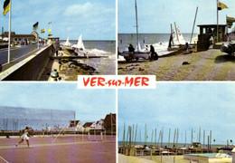E 1852 -  Ver - Sur - Mer (14) La Plage Les Régates  Les Tennis - Otros Municipios