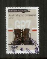 Ruta De Senderismo De Larga Distancia GR7 (Ballon D'Alsace,Vosges En Andorra La Vella), 2020,sello Cancelado,1ra Calidad - Gebruikt