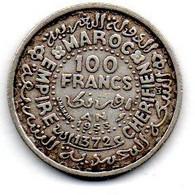 Maroc - 100 Francs 1953    -  TTB - Marocco