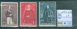 302-304 Xx Côte 13.00€ - Unused Stamps