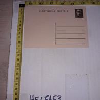 FB1932 STORIA POSTALE CARTOLINA LIRE 1,20 NUOVA - 1946-60: Storia Postale