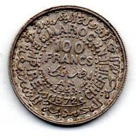 Maroc - 100 Francs 1953    -  SUP - Marocco