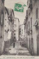 Une Vieille Rue Près De La Citadelle Carte En Très Bon état - Ajaccio