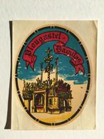Rare - Blason écusson / Chromotransfert Décalcomanie - Vintage Années 50/60 - PLOUGASTEL DAOULAS - Oude Documenten
