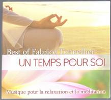 CD 14 TITRES BEST OF FABRICE TONNELLIER UN TEMPS POUR SOI  MUSIQUE POUR LA RELAXATION ET LA MEDITATION NEUF & RARE - New Age