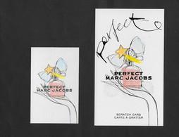 2 Carten Marc Jacops - Parfumkaarten
