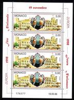MONACO MI-NR. 2411 POSTFRISCH(MINT) KLEINBOGEN EUROPA 1998 NATIONALE FESTE Und FEIERTAGE FÜRSTEN UND PALAST - Europa-CEPT