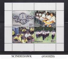 ANGOLA - 2007 CENTENARY OF BOYS SCOUTING MIN/SHT MNH - Angola