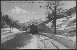 VERS-L'EGLISE - Train ASD Dans La Neige - VD Vaud
