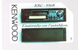 TELECOM ITALIA  -  OMAGGIO PRIVATE - CAT. C.&C. 3334 - KENWOOD: AUTORADIO KRC DA  2.000 - USATA - RIF. CP - Private - Tribute