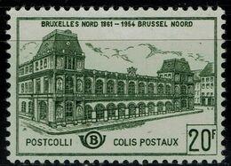 BELGIUM 1959 RAILWAY STATION MI No 52 MNH VF!! - Railway