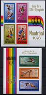 Burundi, 1976, Olympic Summer Games Montreal, MNH Imperforated, Michel Block 92-93B - Non Classificati