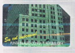 TELECOM ITALIA  -  OMAGGIO PRIVATE - CAT. C.&C. 3337 - M.M.P. PUBBLICITA': GRATTACIELO   DA  2.000 - USATA - RIF. CP - Private - Tribute