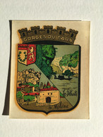 Rare - Blason écusson Chromotransfert Décalcomanie Vintage Années 50/60 - GORGES DU TARN - Les Détroits / La Malène - Oude Documenten