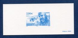 ⭐ France - Epreuve De Luxe - Poste Aérienne -  YT PA N° 72 - Louis Blériot - 2009 ⭐ - Luxusentwürfe