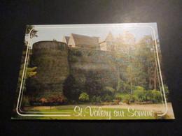 CP Saint Valery Sur Somme - L'église Et Les Remparts - Saint Valery Sur Somme