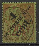 Saint Pierre Et Miquelon (1891) N 41 (o) - Used Stamps
