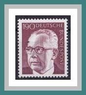 (732) BRD 1972 ** MNH/postfrisch (A-8-6) - Unused Stamps