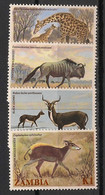 Zambia - 1983 - N°Yv. 282 à 285 - Faune - Neuf Luxe ** / MNH / Postfrisch - Zambie (1965-...)