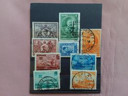 ROMANIA 1931 - 50° Anniversario Regno + Flotta Romena - Timbrati + Spese Postali - 1918-1948 Ferdinand, Charles II & Michael