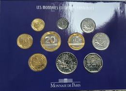 FRANCE 10  MONNAIES  2000   B.U.   Dans  Le Coffret Neuf - Collections