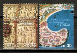 Portugal 2006 / Arrival Of The Portuguese In Sri Lanka MNH 500 Años Llegada De Los Portugueses A Ceylán / Ku07  34-47 - Geschichte