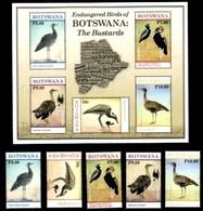 (288-289) Botswana  2016 / Birds Sheet / Bf / Bloc Oiseaux / Vögel / Vogels  ** / Mnh  Michel BL 54 - Botswana (1966-...)