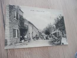 CPA 30 Gard Aujac Route De Bessèges - Other Municipalities