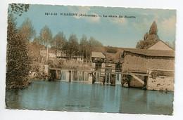 08 WASIGNY  La Chute Du Moulin Cascade Ecluse Vannes Edit Mme Bosquet 247- 5 -358  -  1930    D19 2020 - Otros Municipios